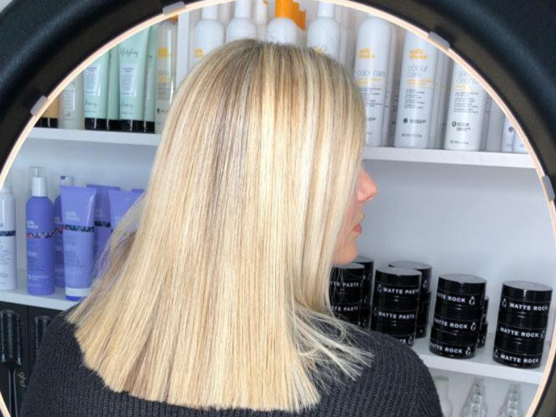 blonde hair horsforth